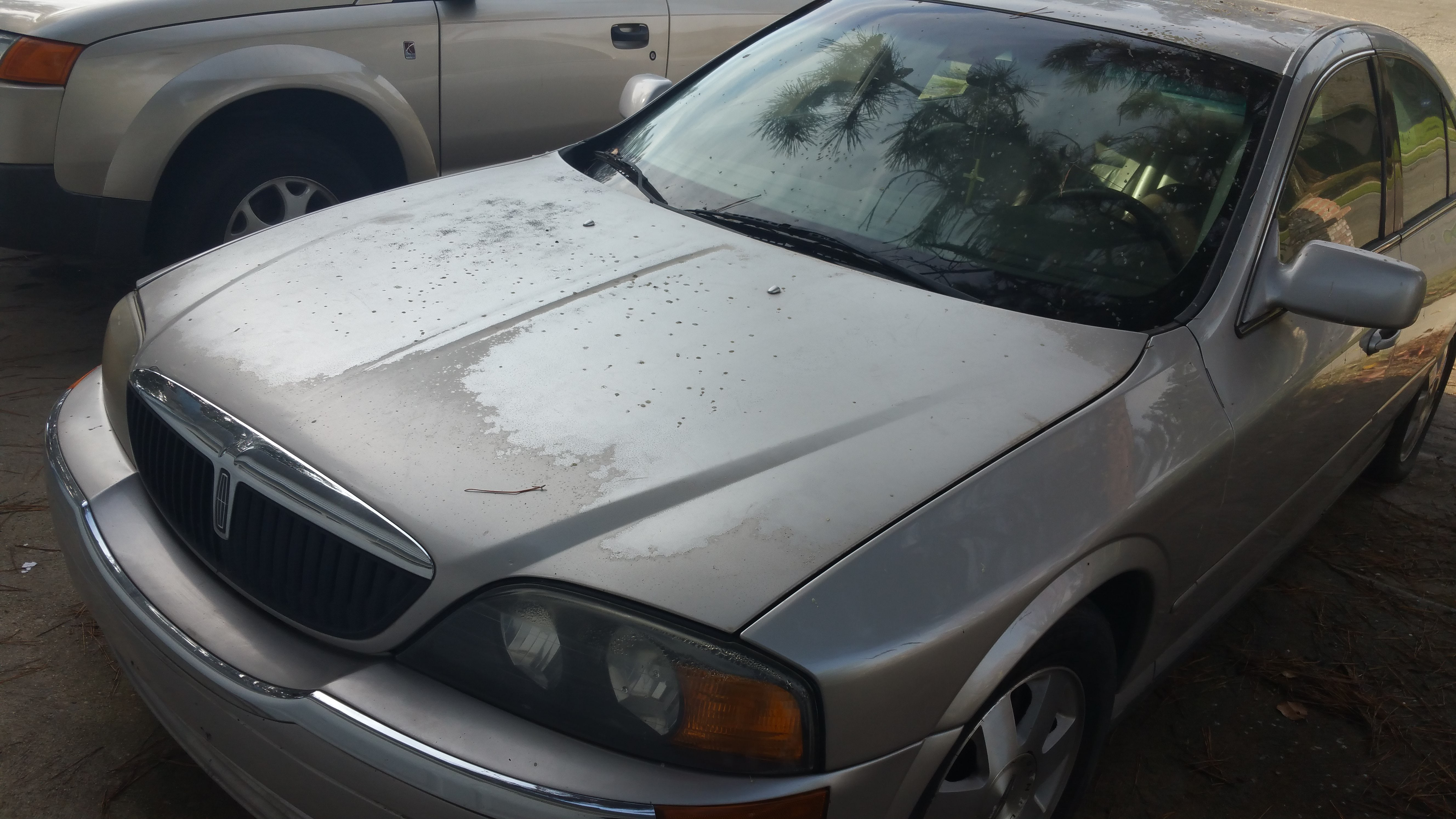 Junk 2002 Lincoln LS in Fresno