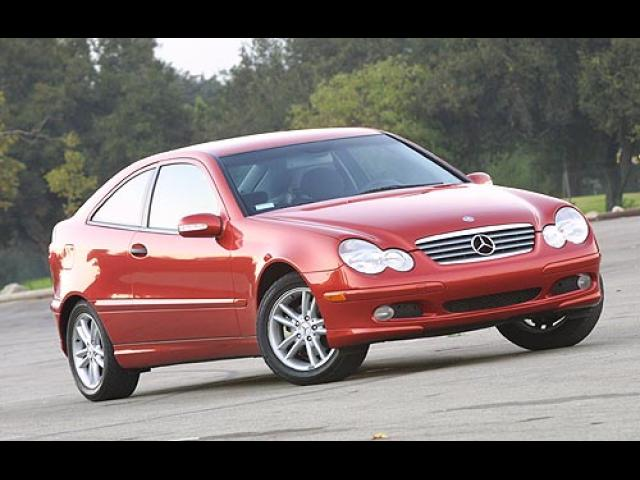 Junk 2002 Mercedes-Benz C in Houston