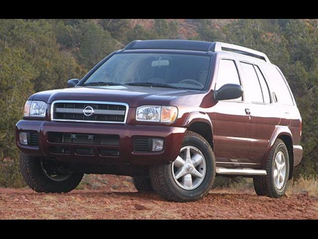 Junk 2002 Nissan Pathfinder in Clinton