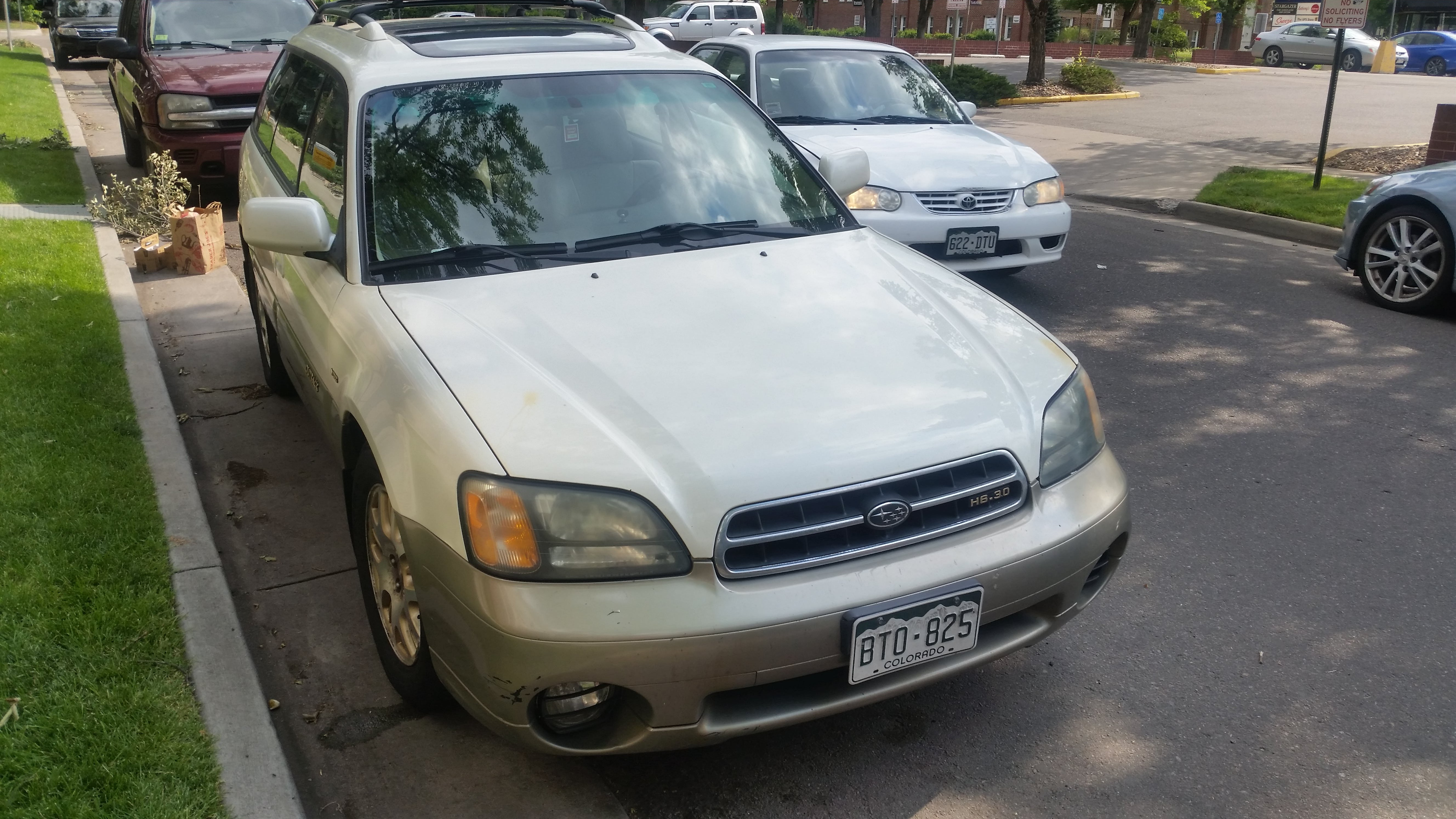 Junk 2002 Subaru Legacy in Denver