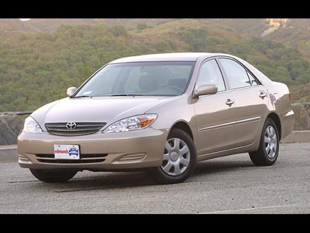 Junk 2002 Toyota Camry in Coarsegold