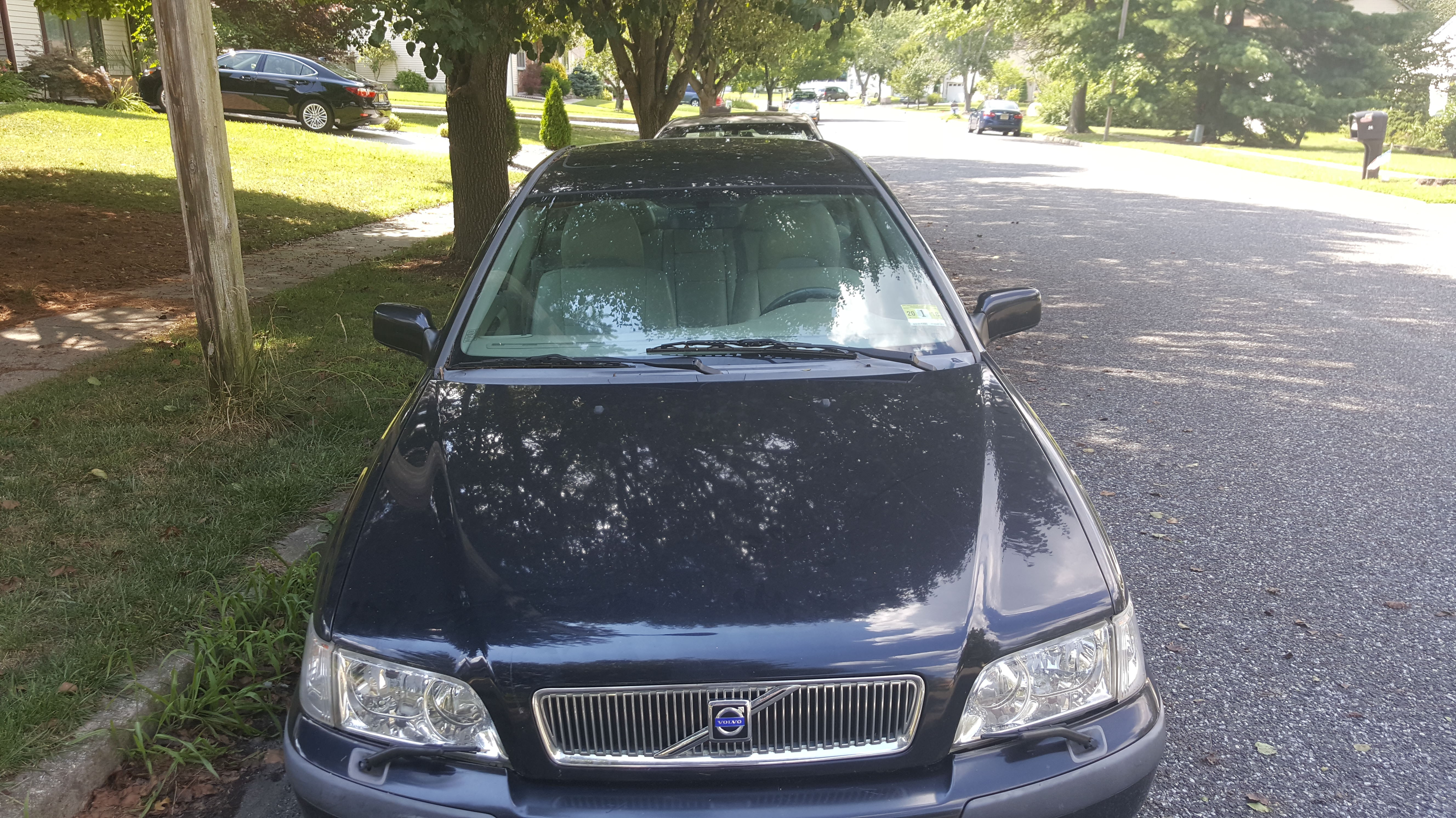 Junk 2002 Volvo S40 in Blackwood