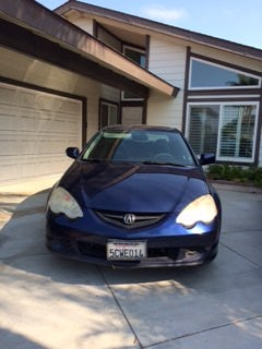 Junk 2003 Acura RSX in Seal Beach