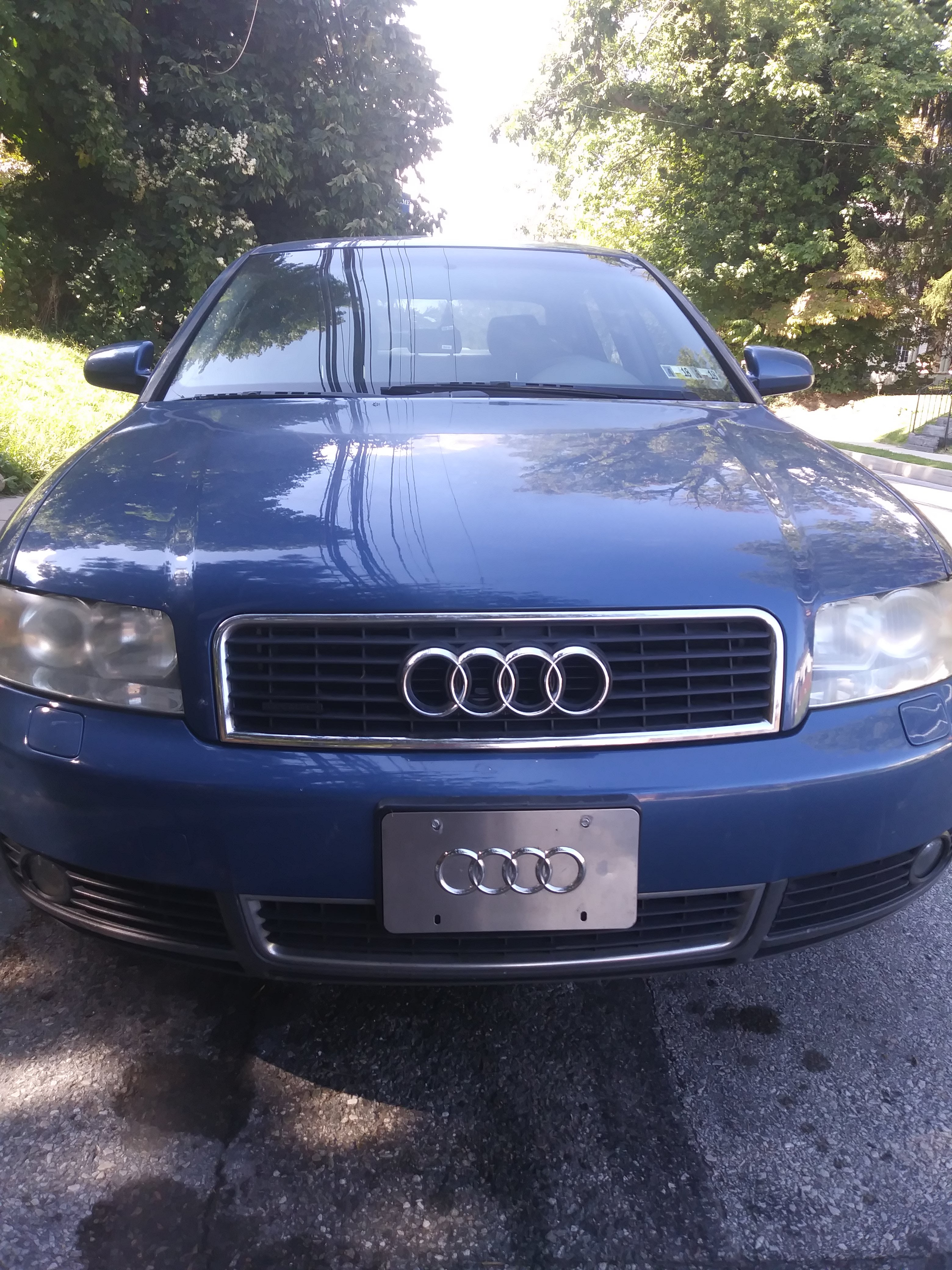 Junk 2003 Audi A4 in Sharon Hill