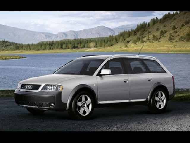 Junk 2003 Audi allroad in Black Hawk
