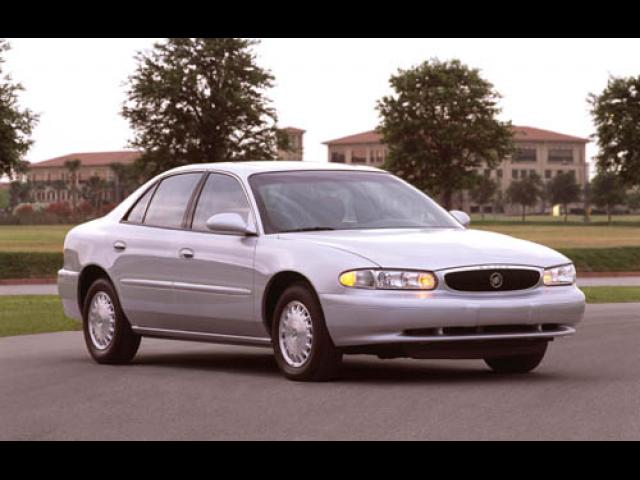 Junk 2003 Buick Century in Plymouth