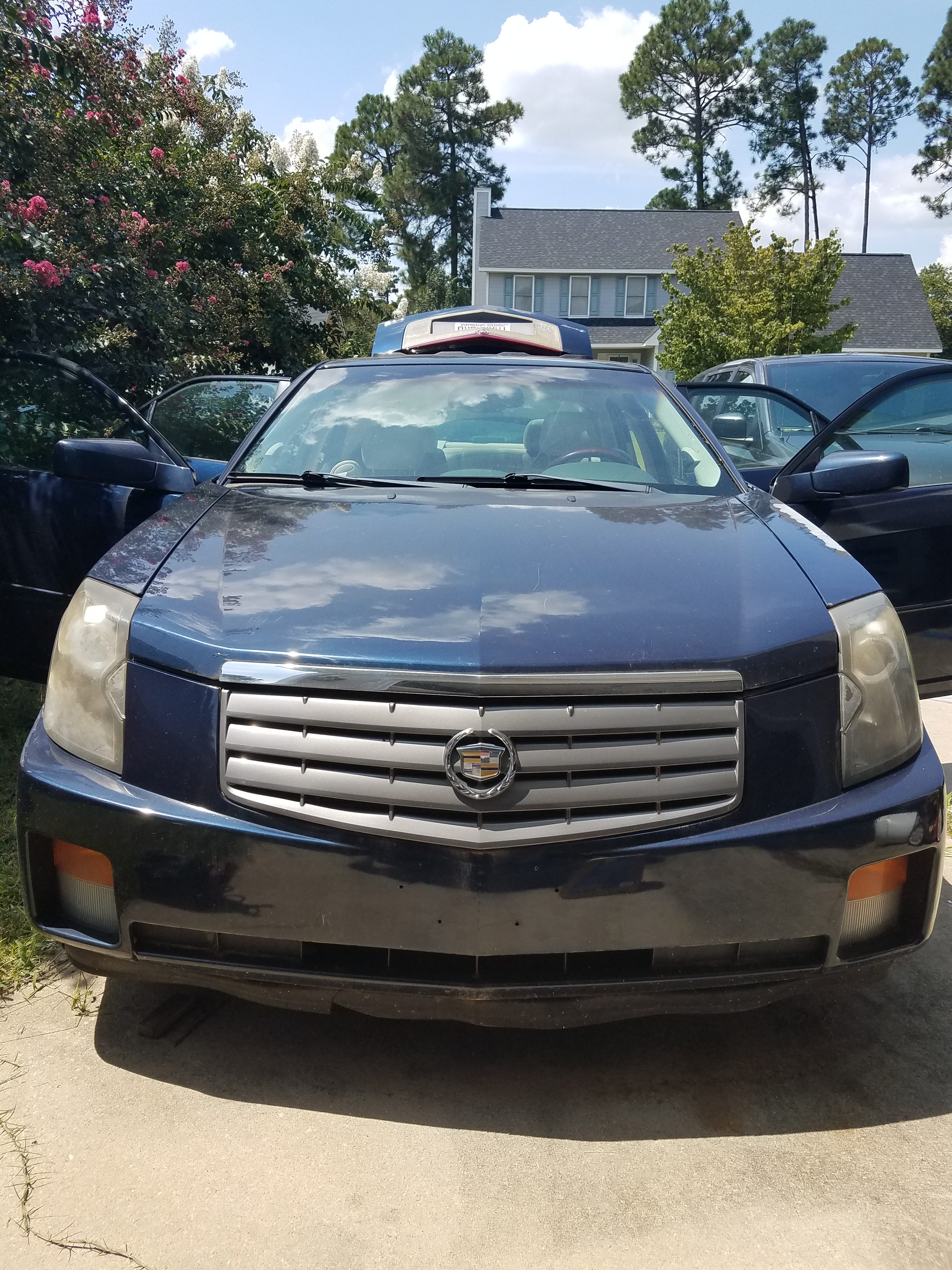 Junk 2003 Cadillac CTS in Fayetteville