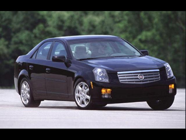 Junk 2003 Cadillac CTS in Houston