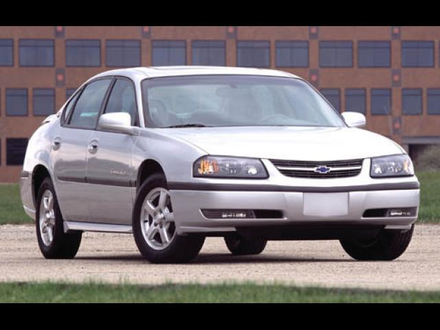 Junk 2003 Chevrolet Impala in Brick