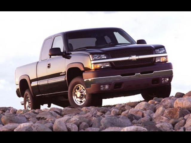 Junk 2003 Chevrolet Silverado in Southbridge