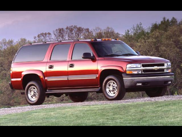 Junk 2003 Chevrolet Suburban in Bountiful