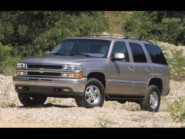 Junk 2003 Chevrolet Tahoe in Round Rock
