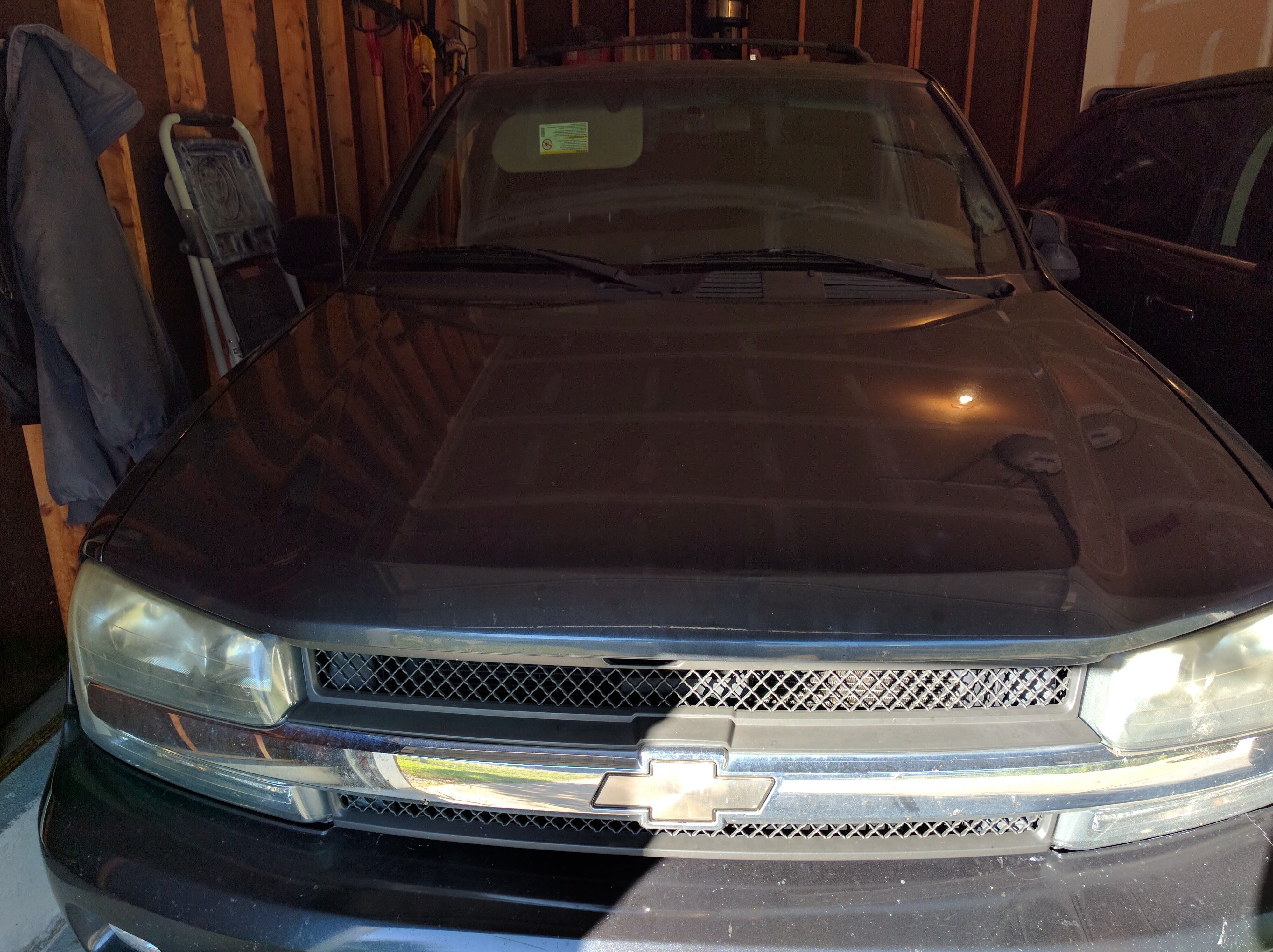 Junk 2003 Chevrolet TrailBlazer in Hamilton