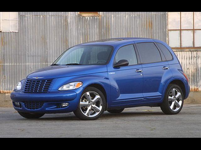 Junk 2003 Chrysler PT Cruiser in Los Banos
