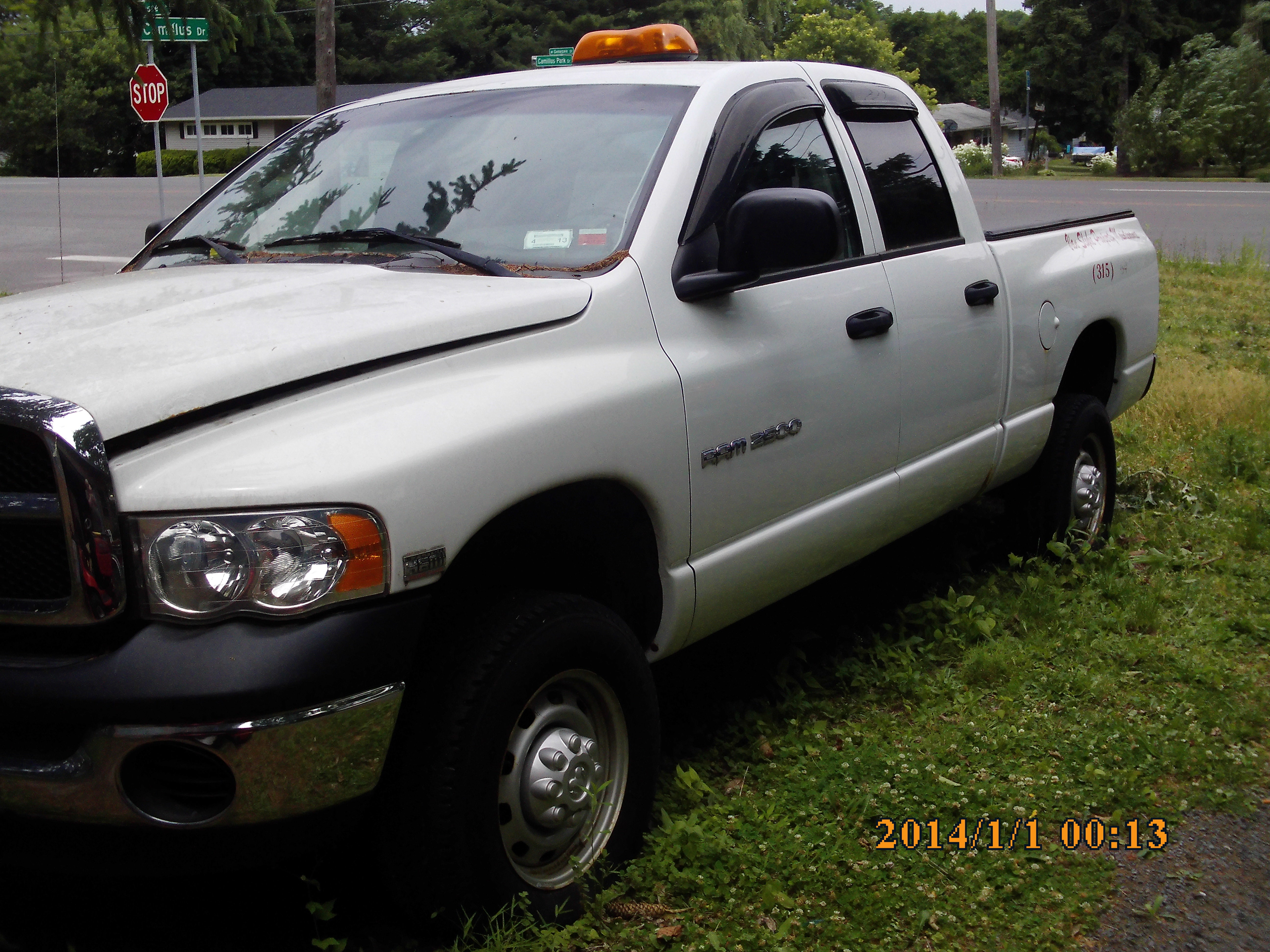 Junk 2003 Dodge RAM 2500 in Camillus