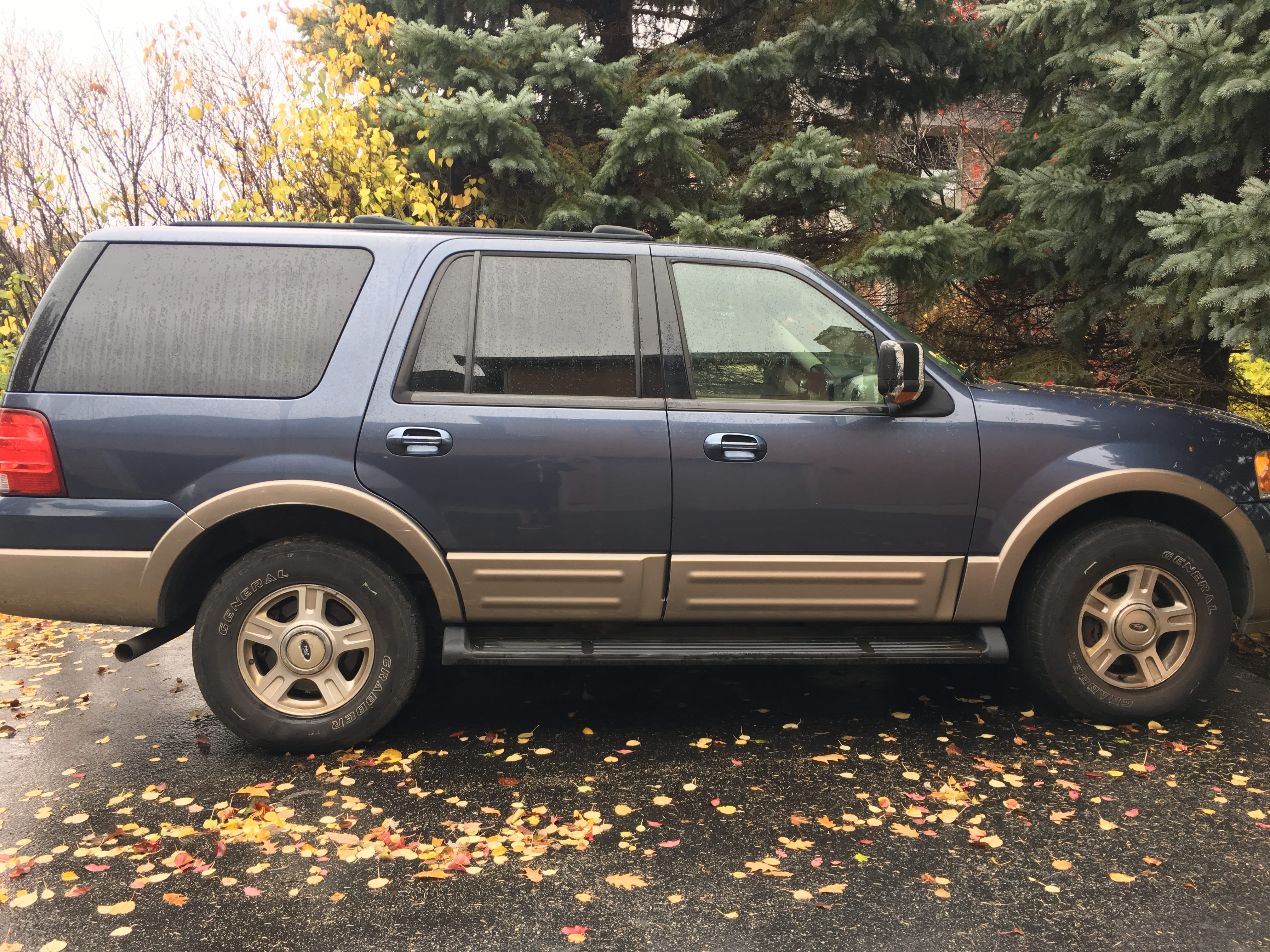 Junk 2003 Ford Expedition in Barrington