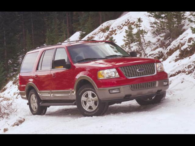 Junk 2003 Ford Expedition in Walled Lake