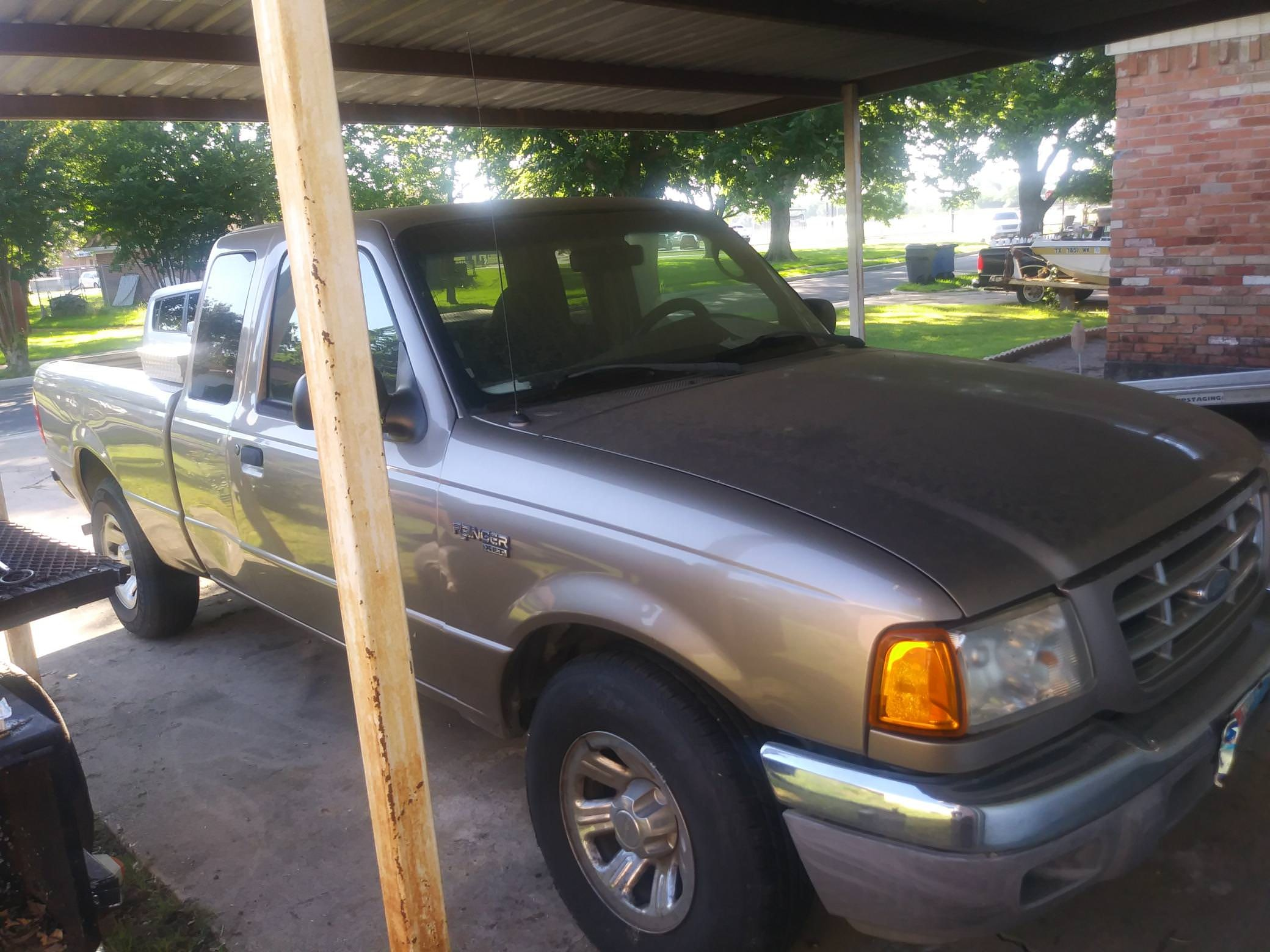 Junk 2003 Ford Ranger in Dallas