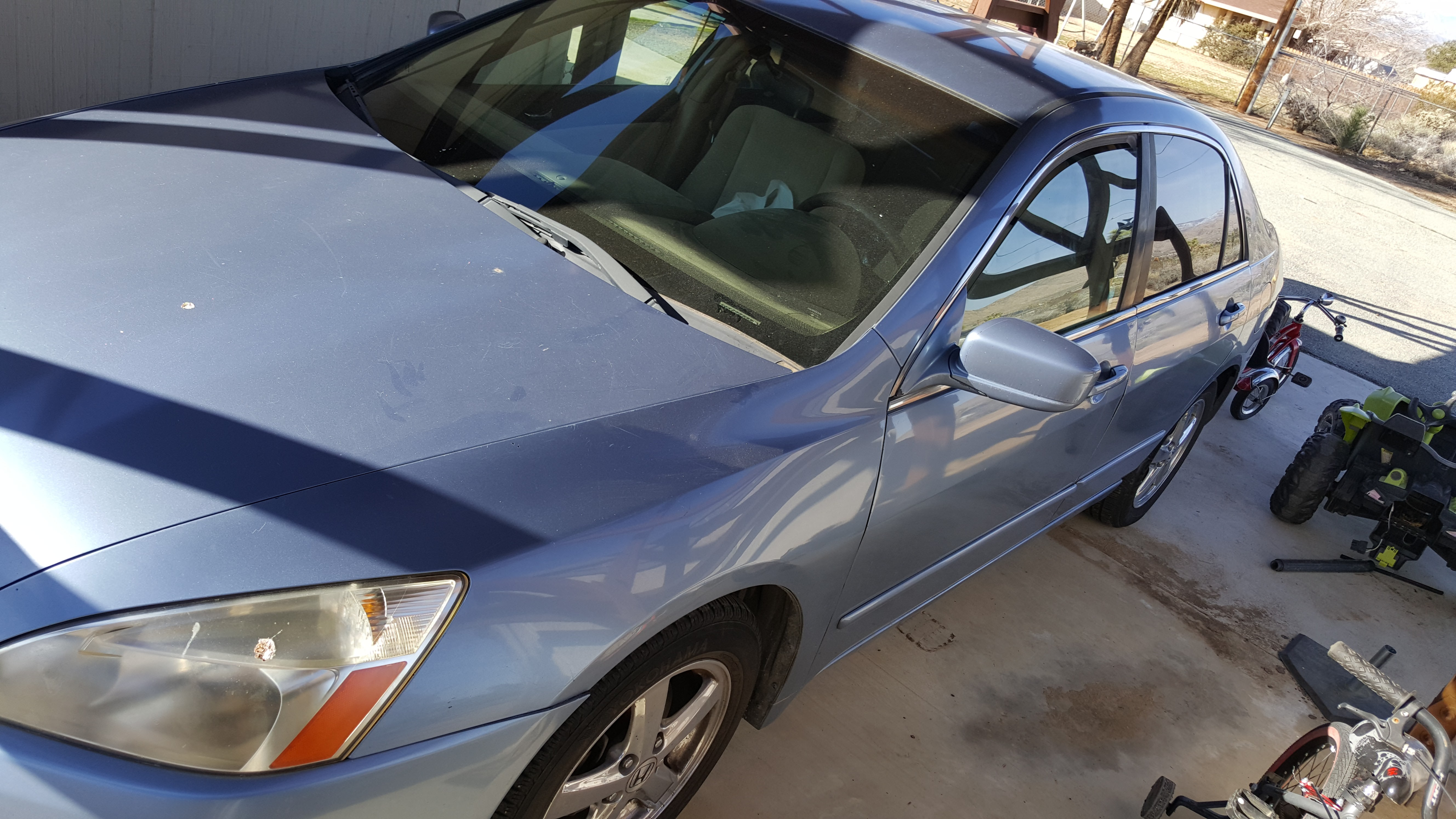 Junk 2003 Honda Accord in Yucca Valley