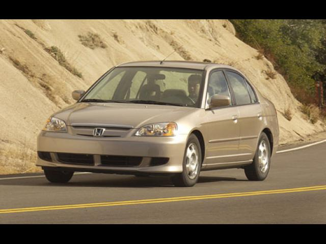 Junk 2003 Honda Civic in Wayland