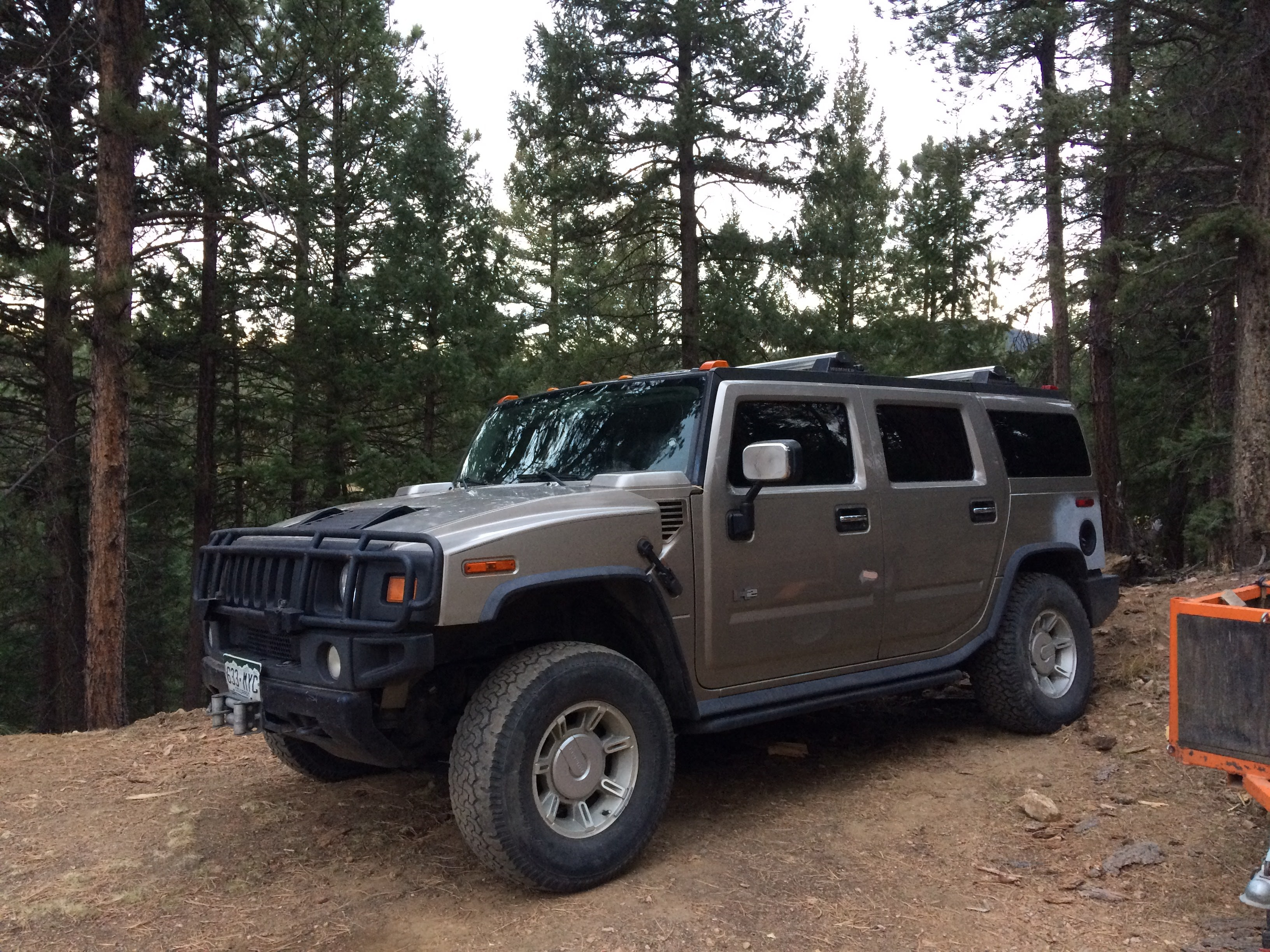 Junk 2003 Hummer H2 in Conifer