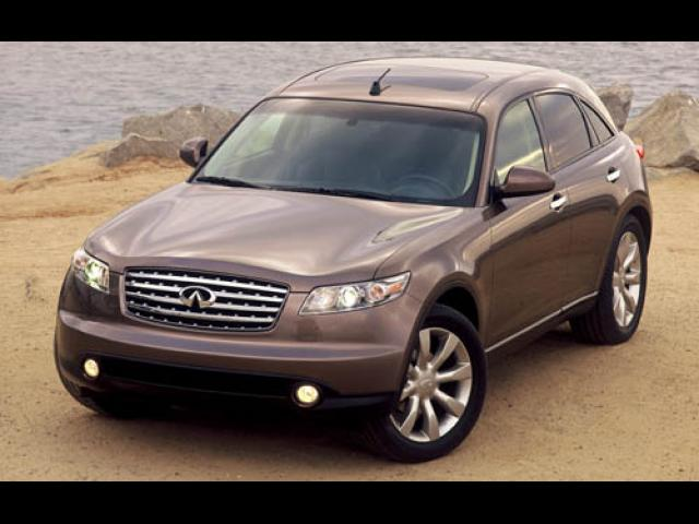 Junk 2003 Infiniti FX45 in West Babylon