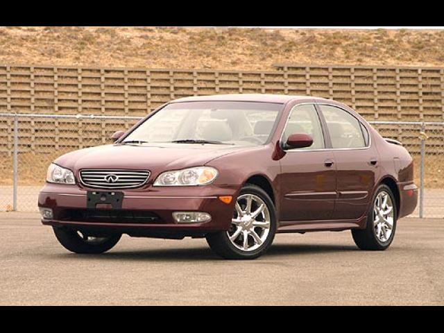 Junk 2003 Infiniti I35 in North Hollywood