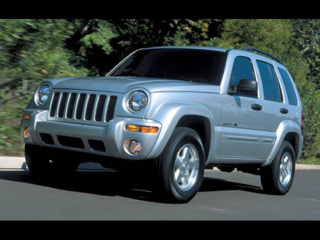 Junk 2003 Jeep Liberty in Golden