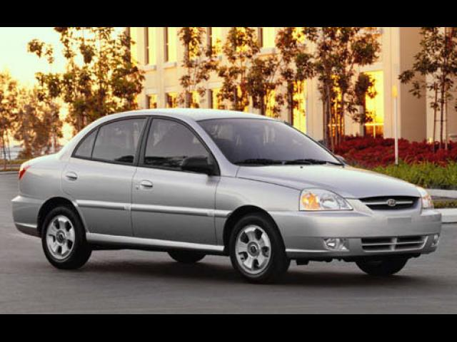 Junk 2003 Kia Rio in North Las Vegas