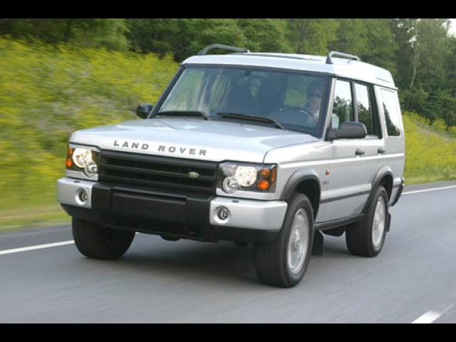 Junk 2003 Land Rover Discovery II in Hollywood