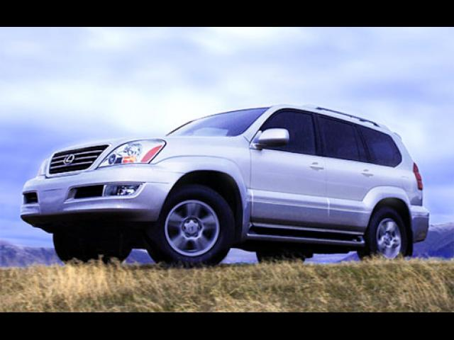 Junk 2003 Lexus GX in Arlington