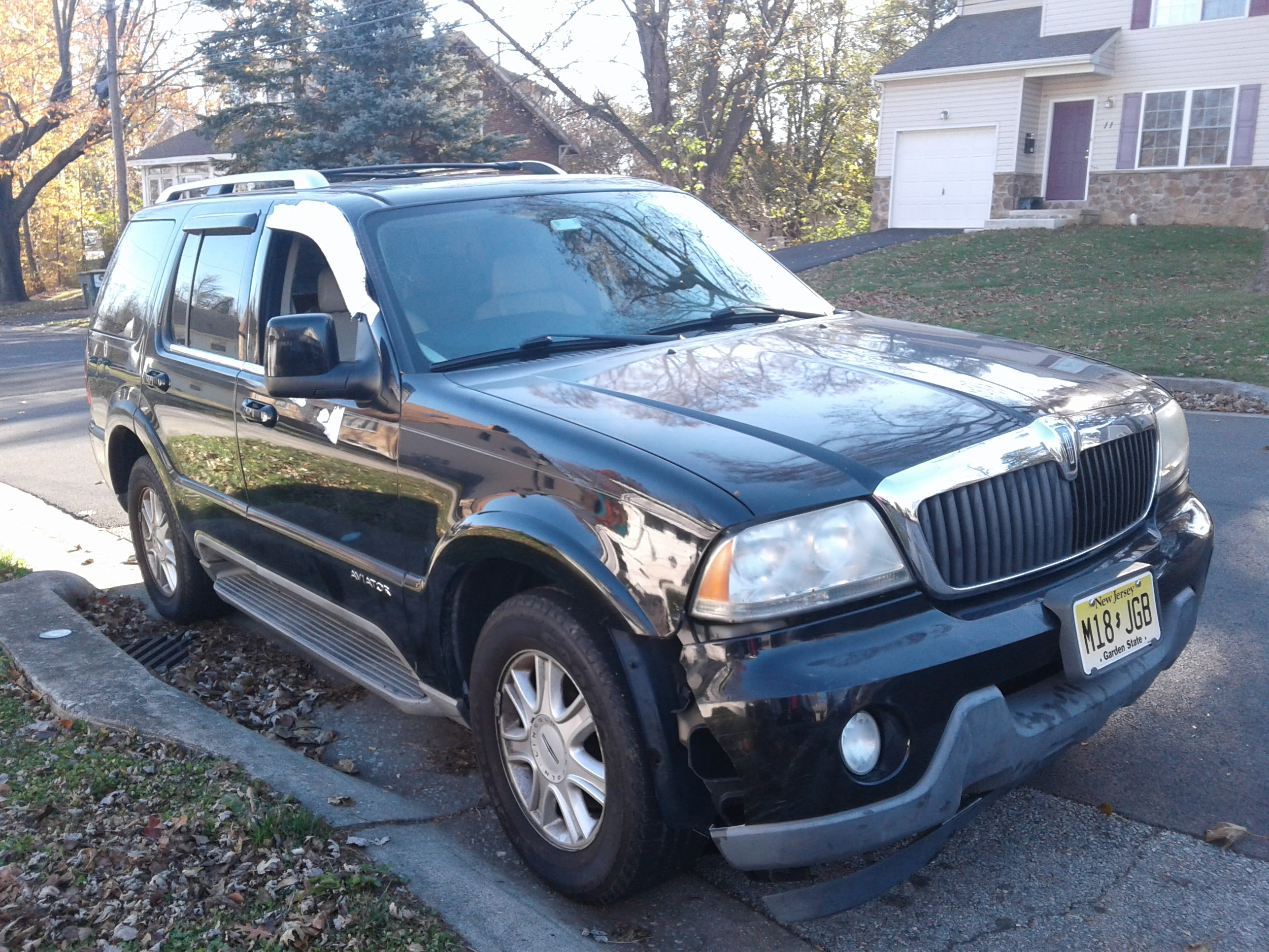Junk 2003 Lincoln Aviator in Claymont