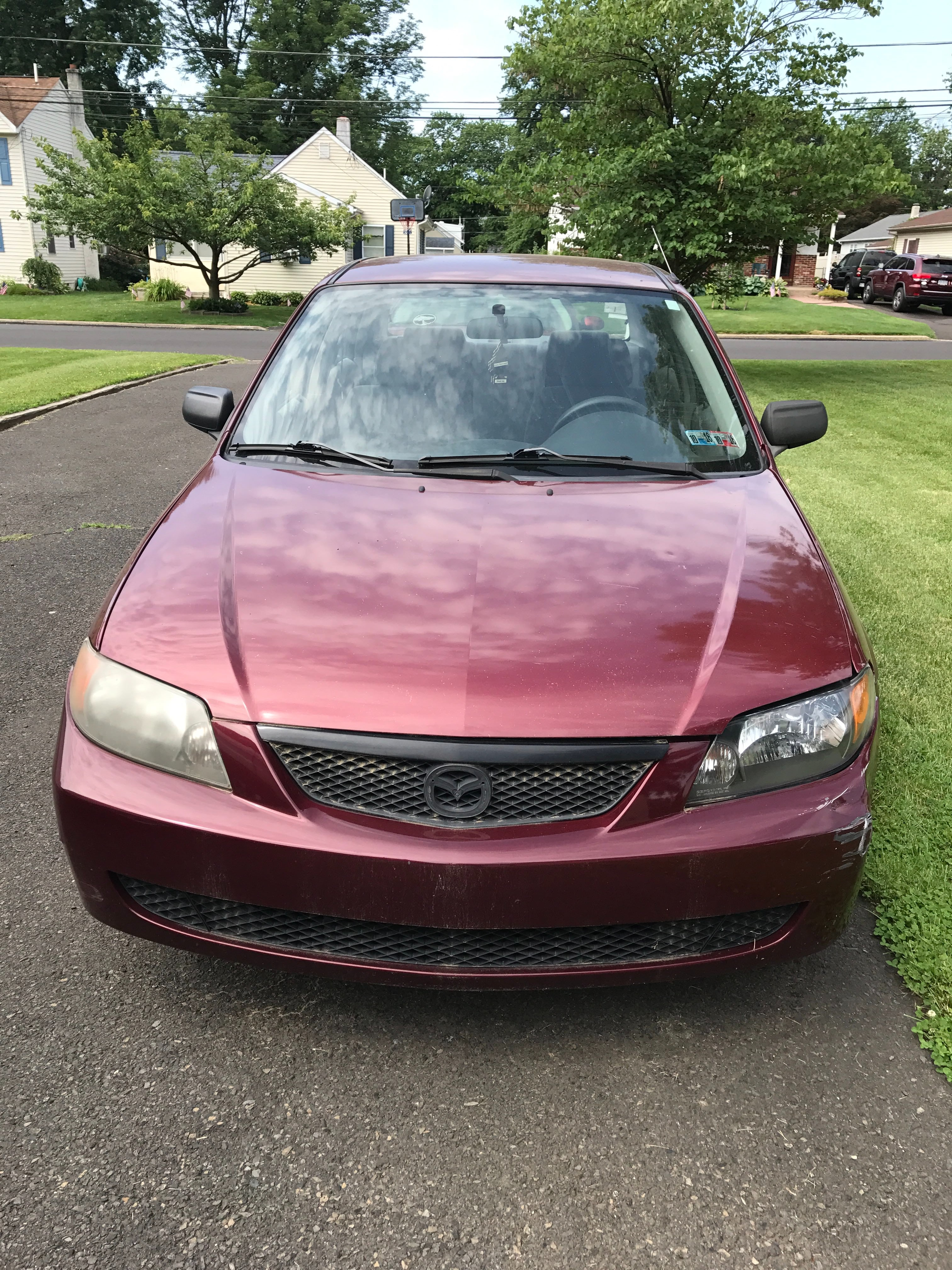 Junk 2003 Mazda Protege in Warminster