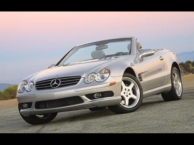 Junk 2003 Mercedes-Benz SL in Dallas