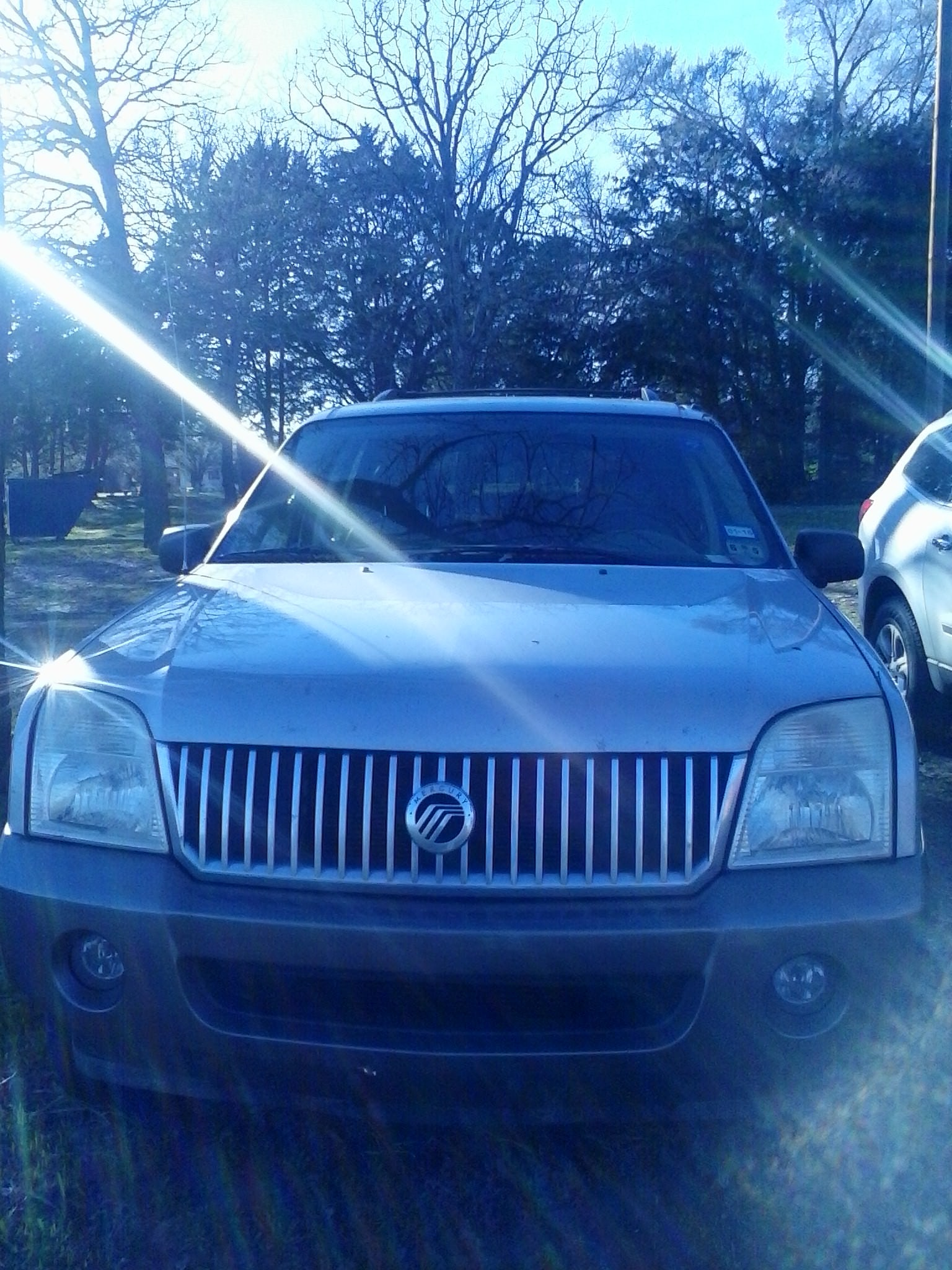 Junk 2003 Mercury Mountaineer in Kaufman