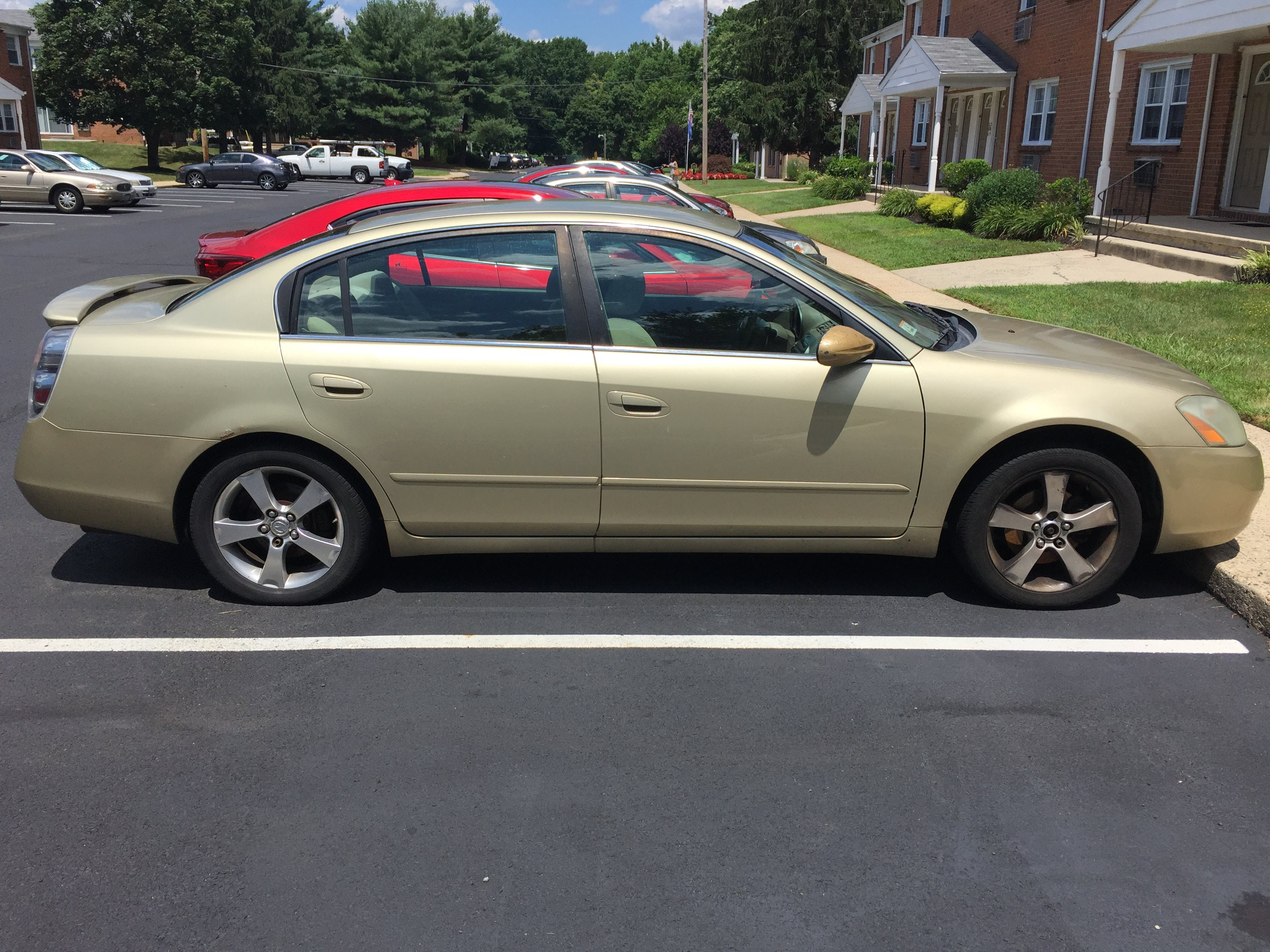 Junk 2003 Nissan Altima in Burlington