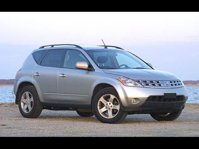 Junk 2003 Nissan Murano in Diamond Springs