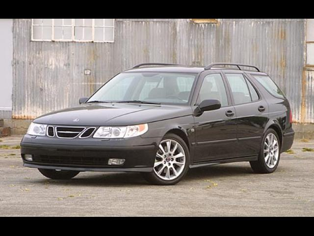 Junk 2003 Saab 9-5 in League City