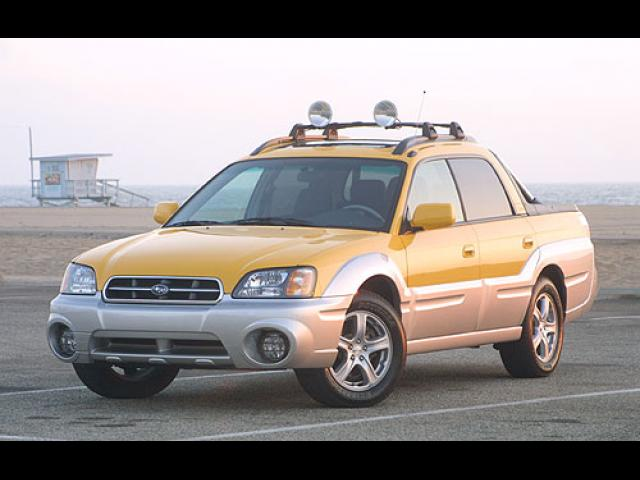 Junk 2003 Subaru Baja in Lowell
