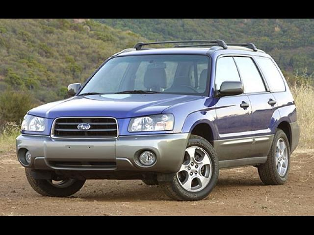 Junk 2003 Subaru Forester in Haltom City
