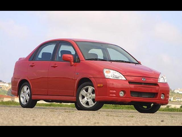 Junk 2003 Suzuki Aerio in Union