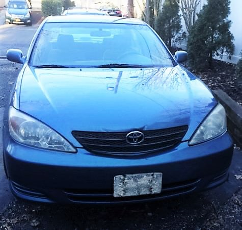 Junk 2003 Toyota Camry in Centerport