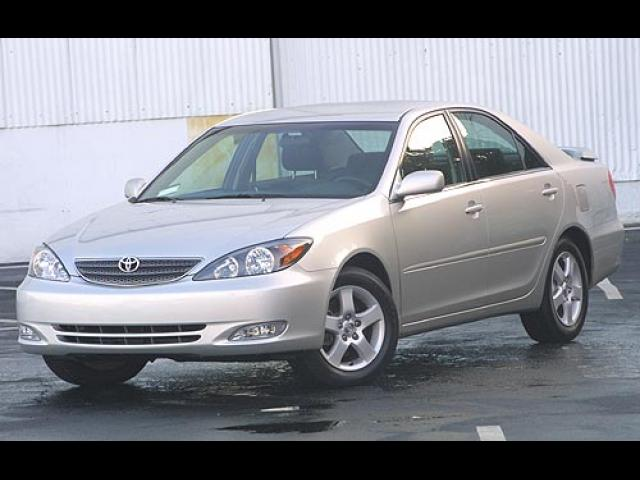 Junk 2003 Toyota Camry in Chino Hills
