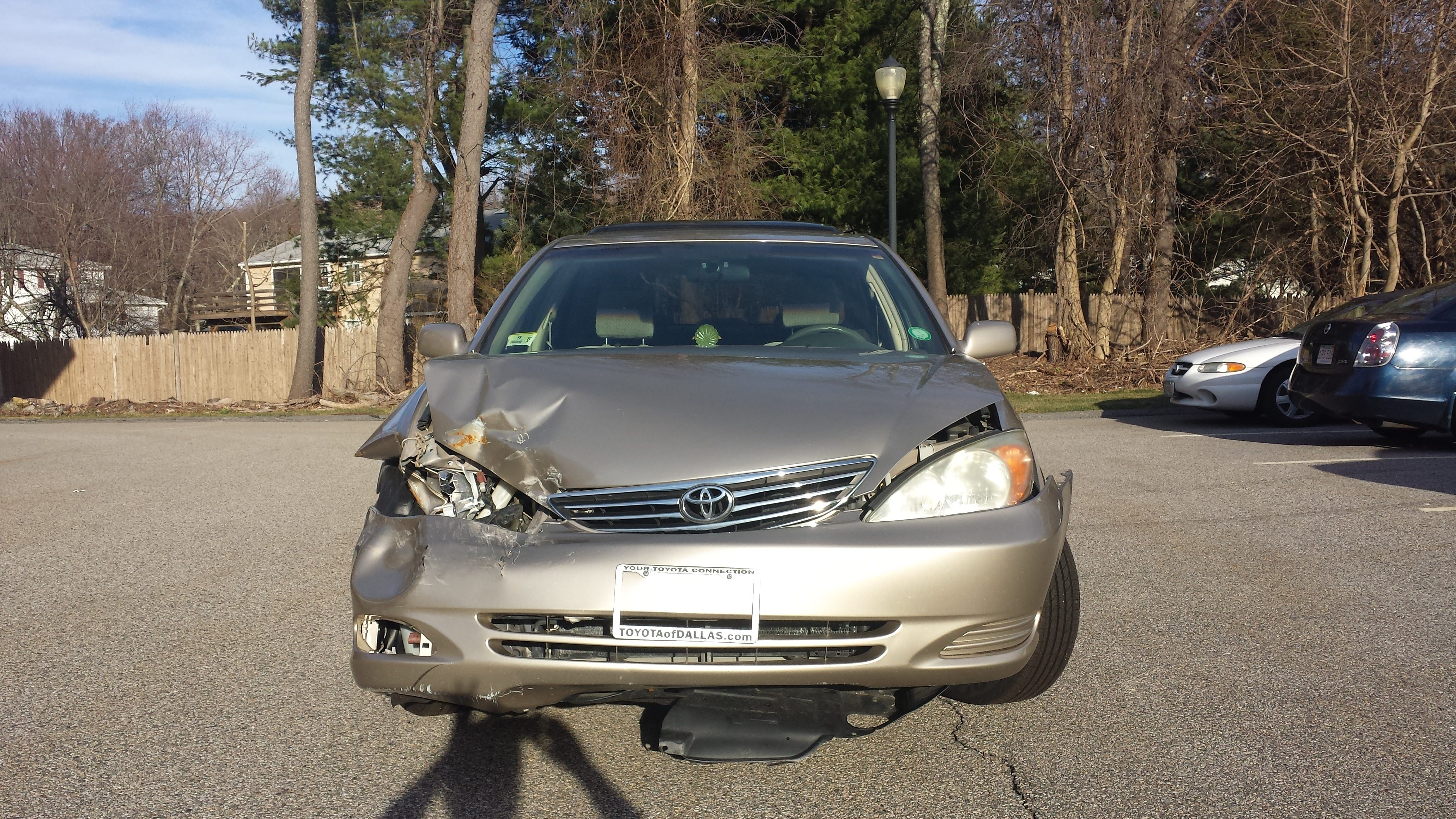 Junk 2003 Toyota Camry in Westborough