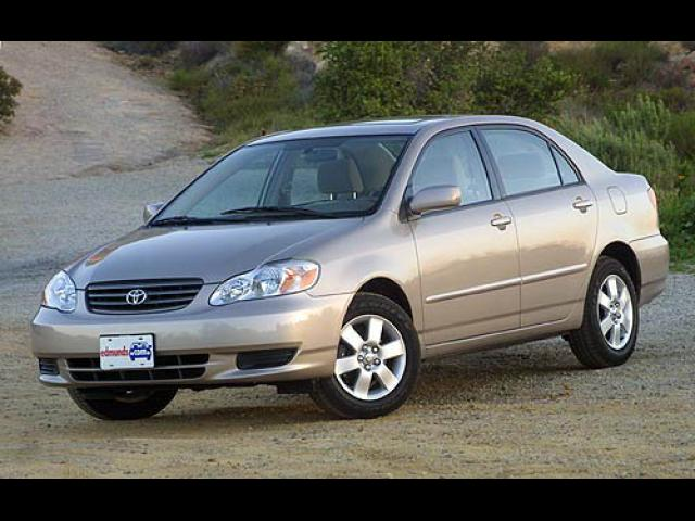 Junk 2003 Toyota Corolla in Round Lake