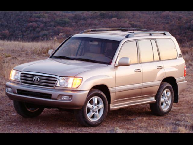 Junk 2003 Toyota Land Cruiser in Eastchester