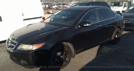 Junk 2004 Acura TSX in North Hollywood