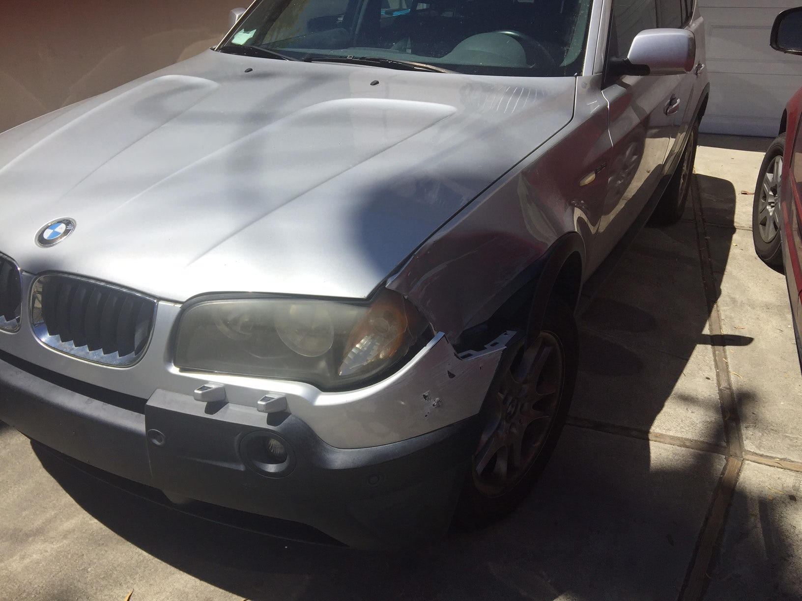 Junk 2004 BMW X3 in Burlingame