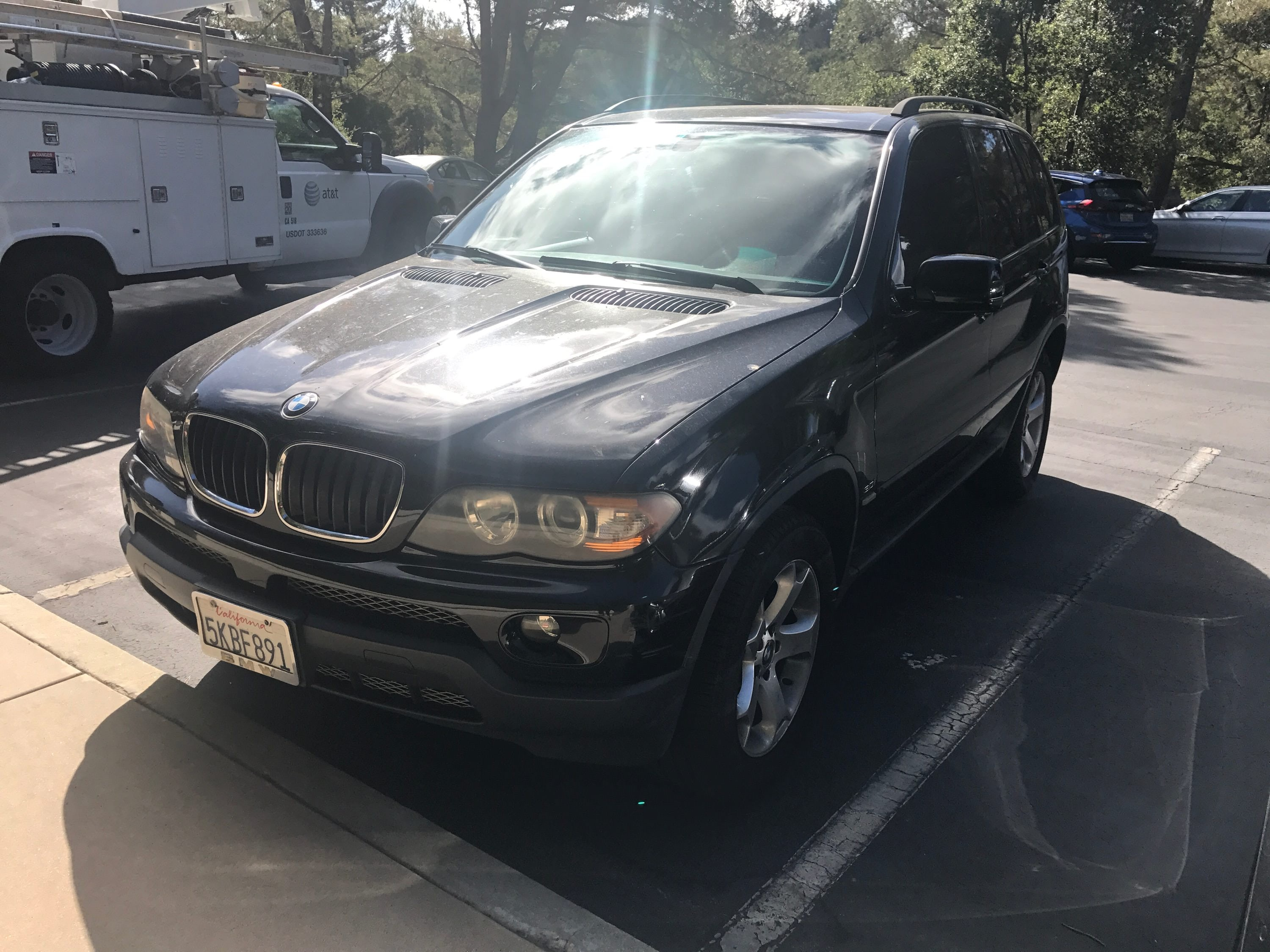 Junk 2004 BMW X5 in Menlo Park