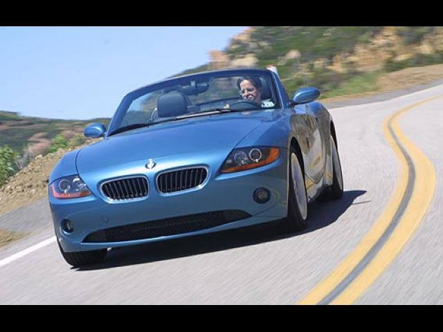 Junk 2004 BMW Z4 in Dobbs Ferry